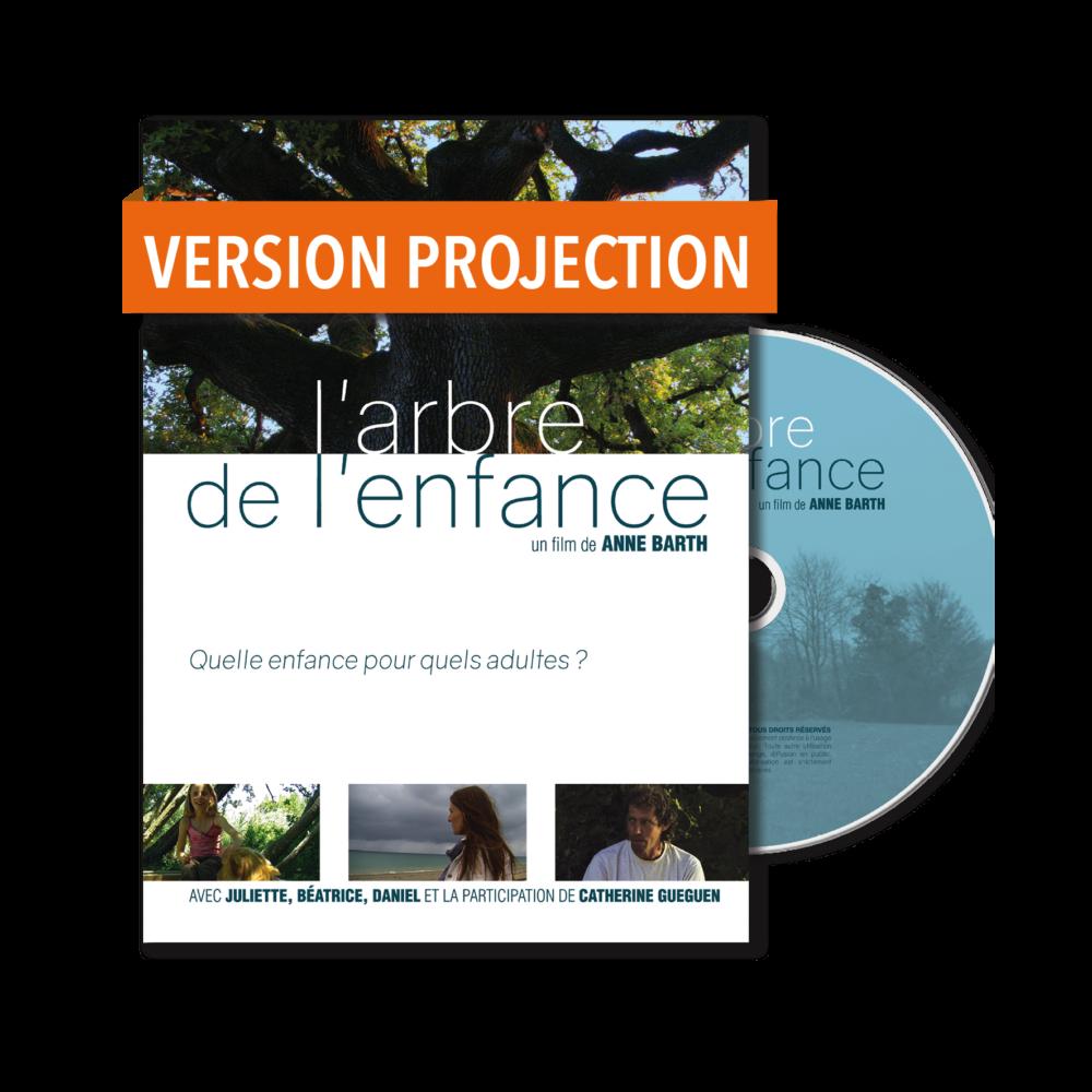 DVD pour les projections